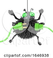 3d Spider Uses Green Energy