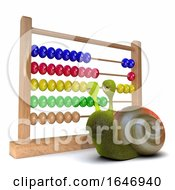 3d Snail Using An Abacus