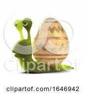 Poster, Art Print Of 3d Easter Snail