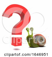 3d Snail Questions Everything