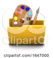 3d Artist Folder Icon