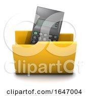 3d Calculator Folder Icon