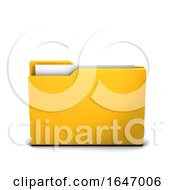 3d Closed Folder Icon