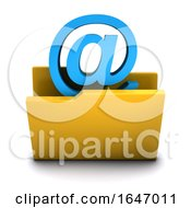 3d Email Folder Icon