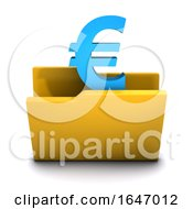 3d Euro Currency Symbol Folder Icon