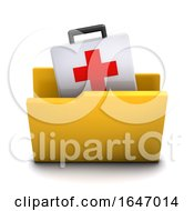 3d First Aid Folder Icon by Steve Young