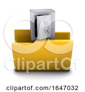 3d Open Safe Symbol Folder Icon