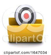 3d Target Symbol Folder Icon by Steve Young