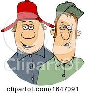Cartoon Redneck Hillbilly Men