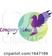 Bird Logo Design With Sample Text
