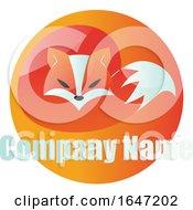 Fox Logo Design With Sample Text