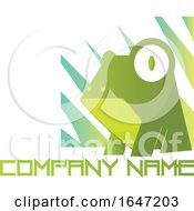 Frog Logo Design With Sample Text by Morphart Creations