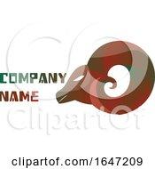 Ram Logo Design With Sample Text