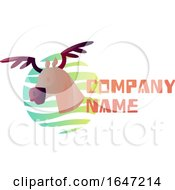 Moose Logo Design With Sample Text