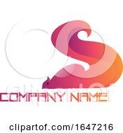 Gradient Squirrel Logo Design With Sample Text