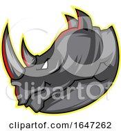 Tough Profiled Rhinoceros Head by Morphart Creations