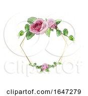 Rose Wedding Frame