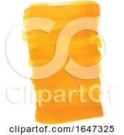 Orange Watercolor Strokes
