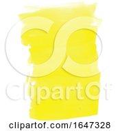 Yellow Watercolor Strokes