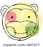 Sketched Monkey Face