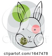Sketched Rabbit Face