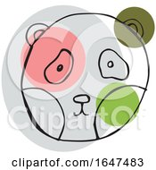 Sketched Panda Face