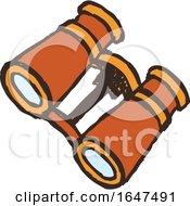 Orange Binoculars by Cherie Reve #COLLC1647491-0099