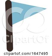 Blue Flag by Cherie Reve #COLLC1647495-0099