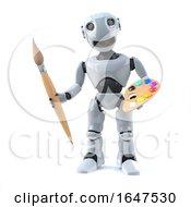3d Robot Artist by Steve Young