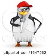 3d Penguin Comedian