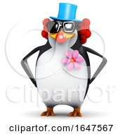 3d Clown Penguin by Steve Young