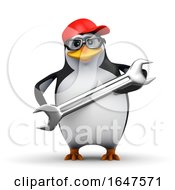 3d Penguin Mechanic