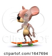 3d Skateboard Mouse by Steve Young