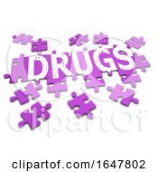 3d Drugs Jigsaw by Steve Young