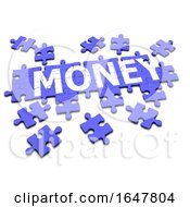 3d Money Jigsaw Puzzle by Steve Young