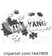 3d YinYang Jigsaw by Steve Young