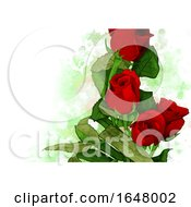 Poster, Art Print Of Floral Background