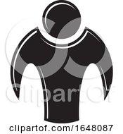 Black And White Person Icon