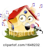 Home Mascot Character Singing