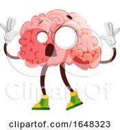 Zombie Brain Character Mascot by Morphart Creations