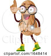 Cartoon Doctor Peanut Mascot Character by Morphart Creations