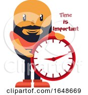 05/26/2019 - Man With Big Clock