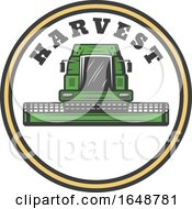 Poster, Art Print Of Harvester Machine