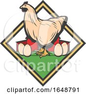 Poster, Art Print Of Chicken And Eggs