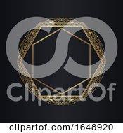 Art Deco Style Background Design