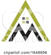 Letter A And M Mountain House Design