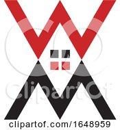 M W Letter Design