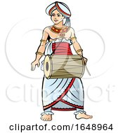 Traditional Sri Lankan Drummer
