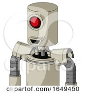 Tan Mech With Cylinder Head And Happy Mouth And Cyclops Eye