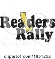 Readers Rally Design With A Gold Bookmark